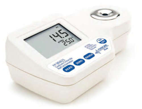 Refractometer for Sodium Chloride